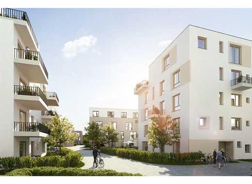 Moderne 2-Zimmer-Wohnung auf ca 76 m² mit offenem Wohn-Essbereich, Gäste WC und zwei Balkonen!