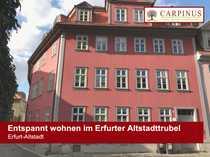 Entspannt wohnen im Erfurter Altstadttrubel