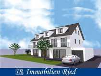 Neubau eines Reihenmittelhauses mit Südgarten