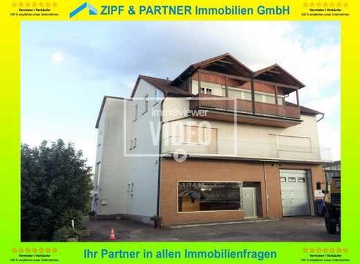 OTTERSTADT: 2-FAMILIENHAUS MIT GEWERBE MIT 1.038 m² GROSSEM GRUNDSTÜCK !!!