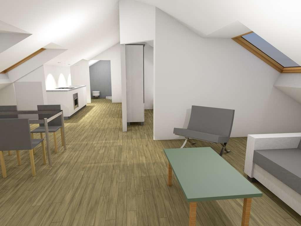 2 Zimmer Dachgeschoßwohnung - Erstbezug nach Sanierung in Veilhof (Nürnberg)