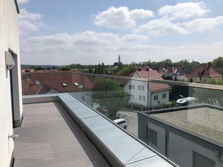 Im Penthouse über den Dächern von Schrobenhausen wohnen in Schrobenhausen