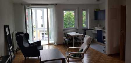Zentrale geräumige und gepflegte 1-Zimmer-Wohnung nähe zur Isar in Freising