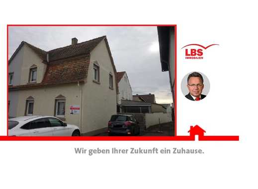 LBS Alzey Doppelhaushälfte mit Anbau und großer Halle