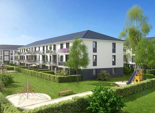 ERSTBEZUG! Leben im Herzen Bernaus! Fußbodenheizung, modernes Bad, Terrasse und Garten!