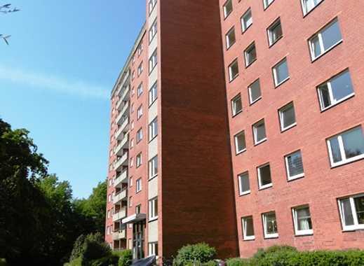 Zentral gelegene 2-Zimmer-Wohnung in Lübeck, St. Jürgen!