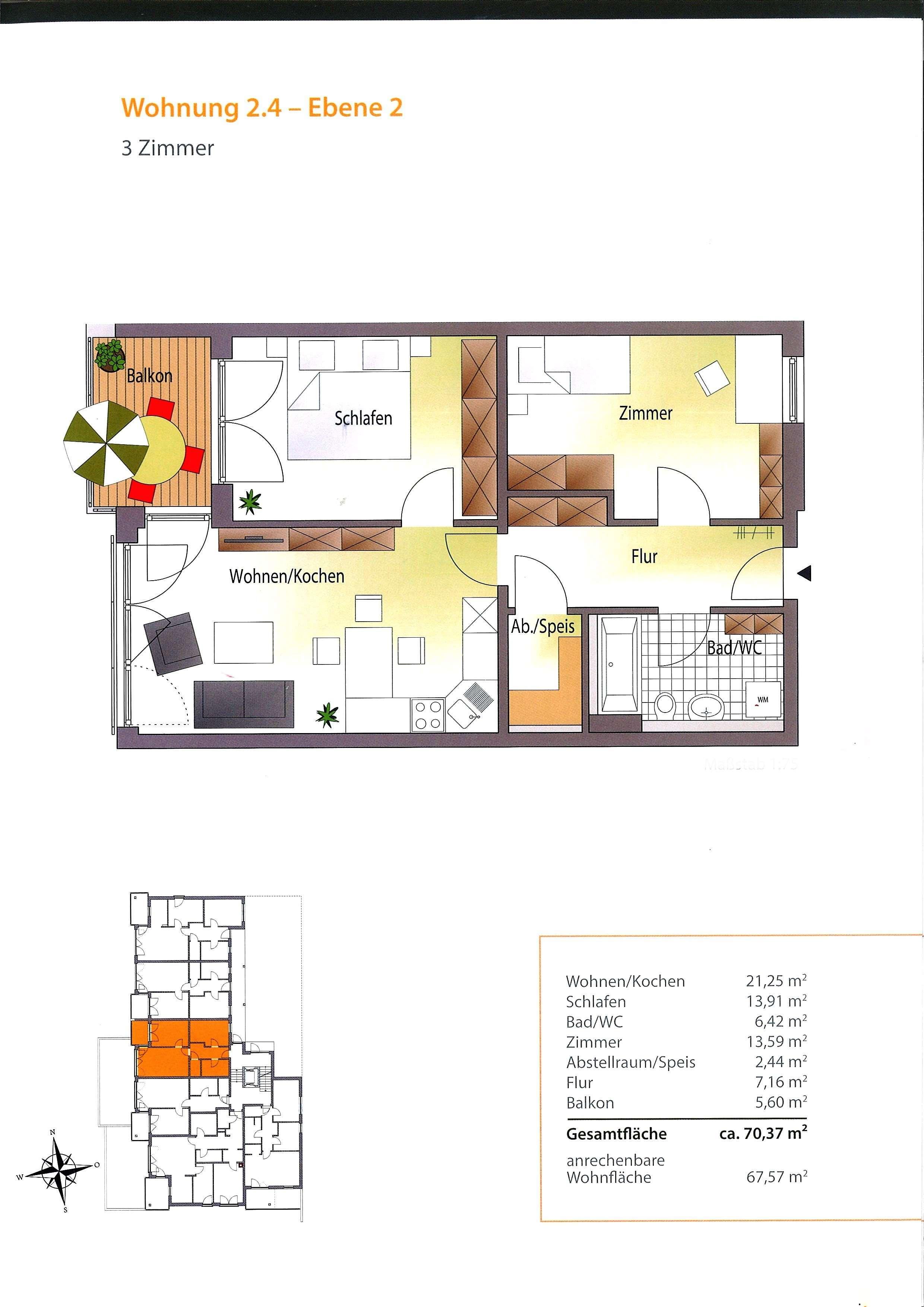 ***3-Zimmer-Neubau-Wohnung Erstbezug***