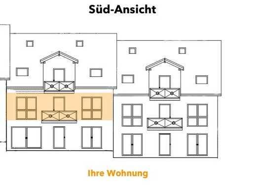 Wohnen im Grünen - Neubau 3-ZW mit Süd-Balkon: umweltfreundlich & CO2 reduziert #3