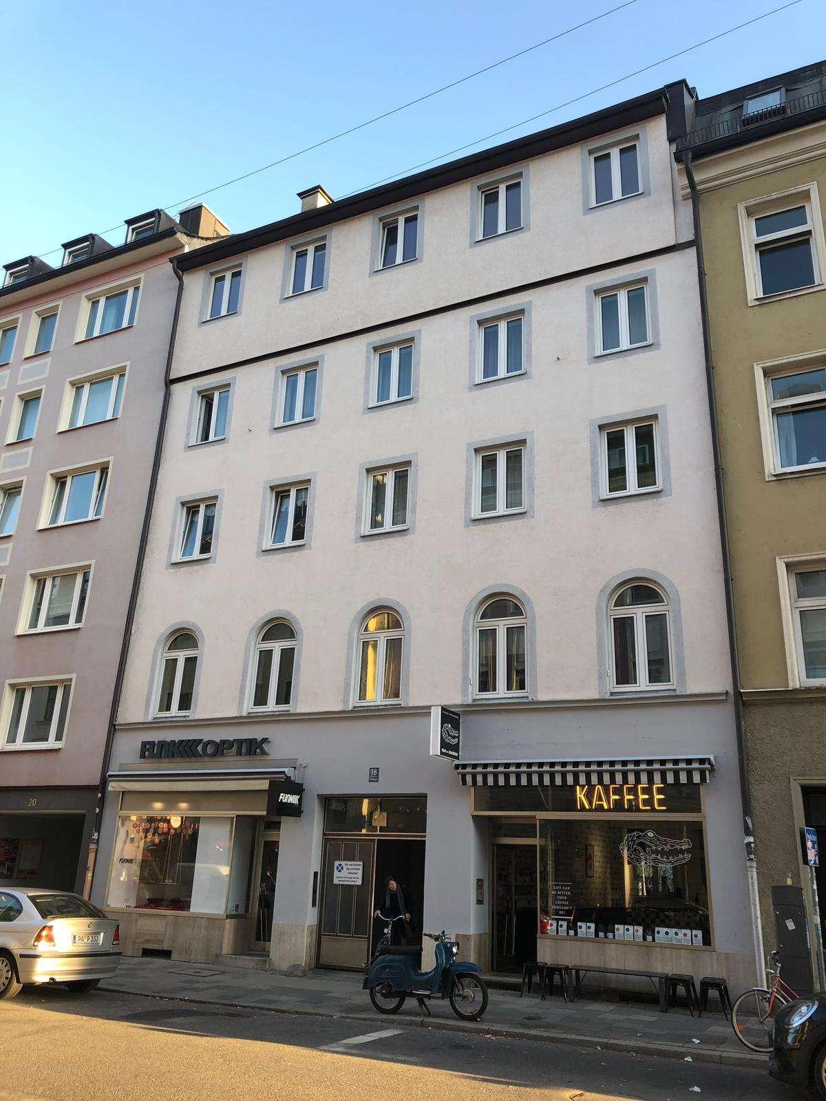 Erstbezug nach Sanierung mit Einbauküche: schöne 1-Zimmer-Wohnung in Maxvorstadt, München in Maxvorstadt (München)