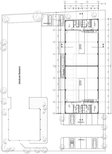 Aufteilung Erdgeschoss