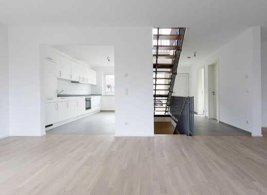 Neubau: gemütliches, modernes Reihenendhaus + Terrasse + Garten mitten in Lörick