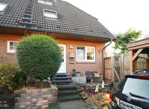 Attraktive 4 bis 5 Zimmer Doppelhaushälfte mit Süd/ West Terrasse in ruhiger Sackgassenlage!