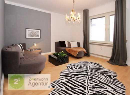 Modern möblierte 2-Zimmer-Wohnung, Düsseldorf-Zooviertel, Weseler Str.