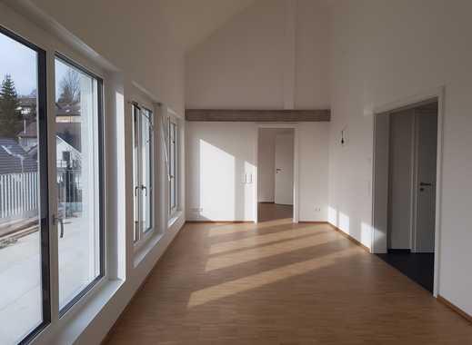 Traumhafte 3-Zimmer-Attika-Wohnung mit EBK und großer Dachterrasse / Erstbezug