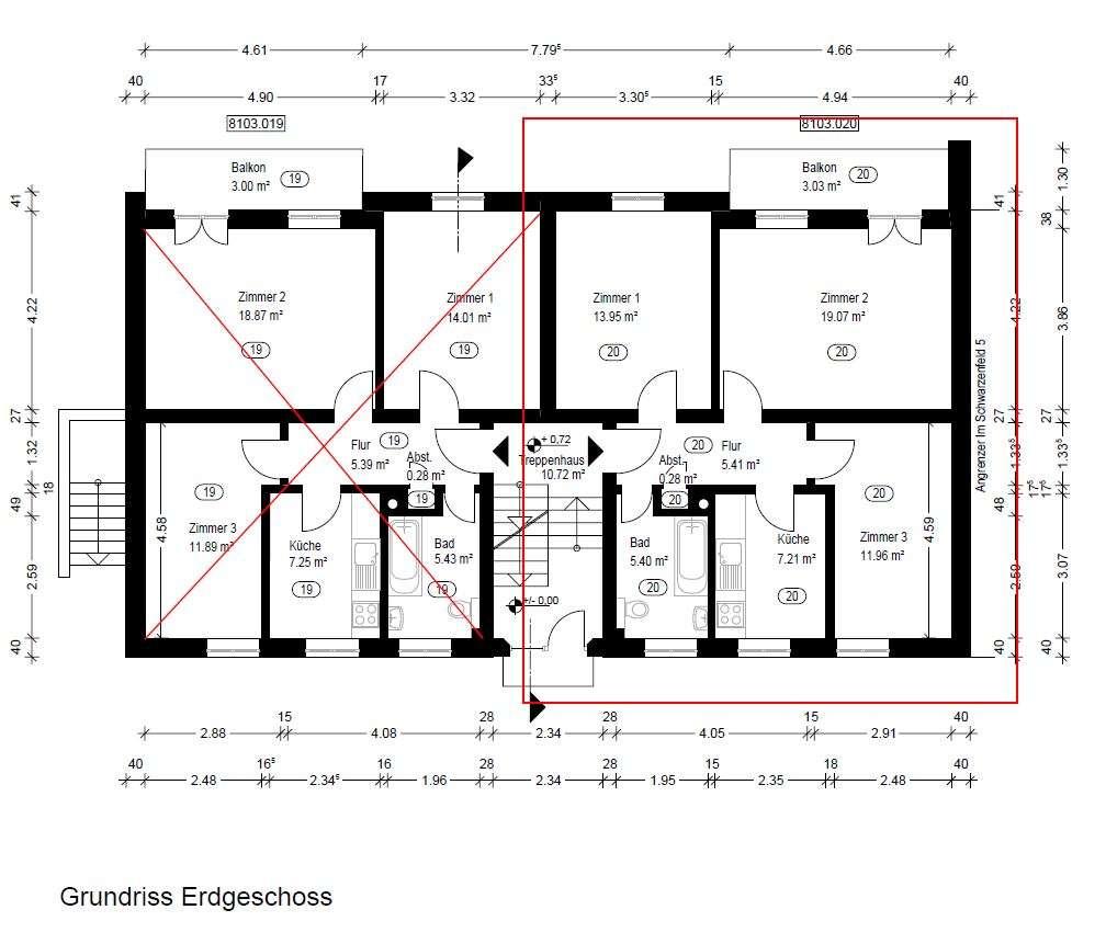 Helle renovierte 3-Zimmer-Erdgeschosswohnung mit großem Balkon in Mittenwald in Mittenwald