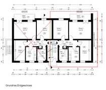 Helle renovierte 3-Zimmer-Erdgeschosswohnung mit großem