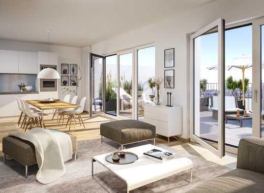Einzigartige ca. 32 m² große Dachterrasse! 3-Zimmer-Penthouse-Wohnung in bester Lage.