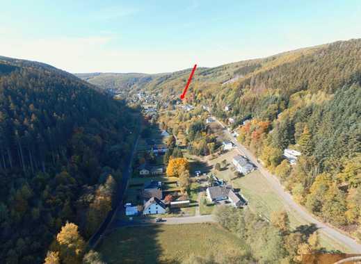 Baugrundstück in schöner sonniger Hanglage in einem ruhigen Tal mitten im NP Eifel