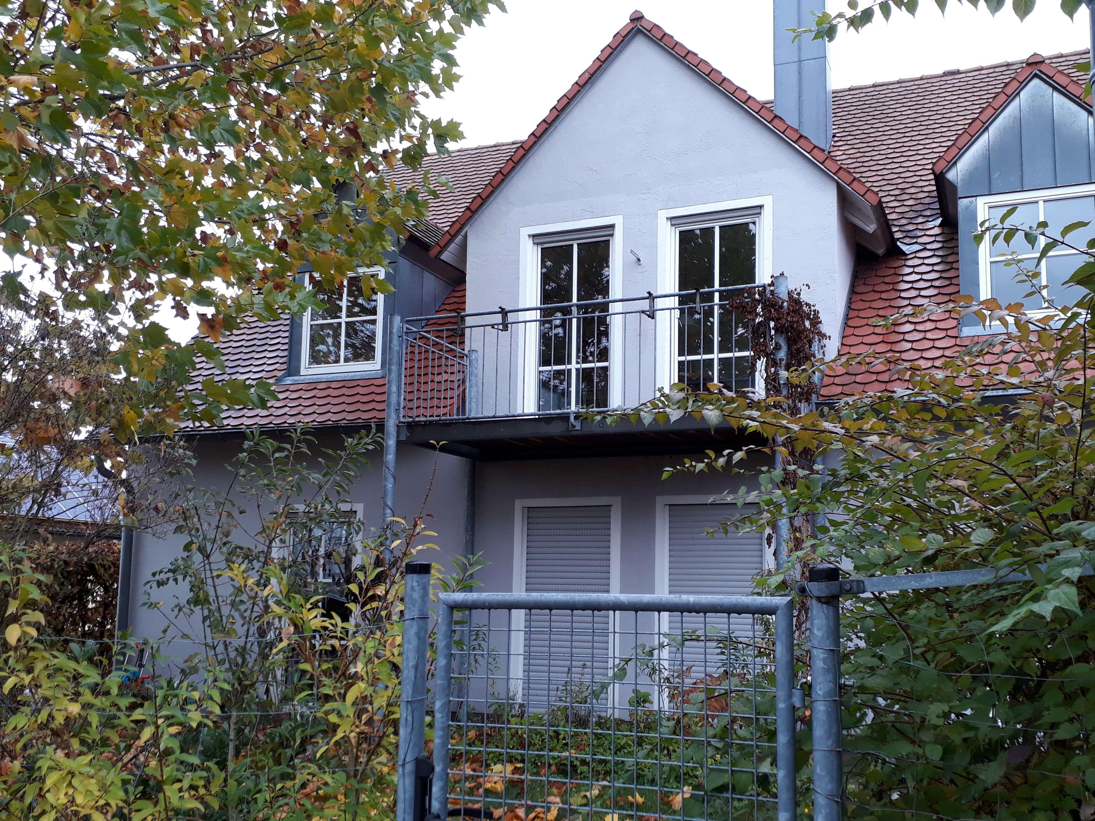 EG-Wohnung mit Garten u. Garage in Zweifamilienhaus in Abensberg