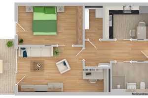 2 Zimmer Wohnung in Straubing-Bogen (Kreis)