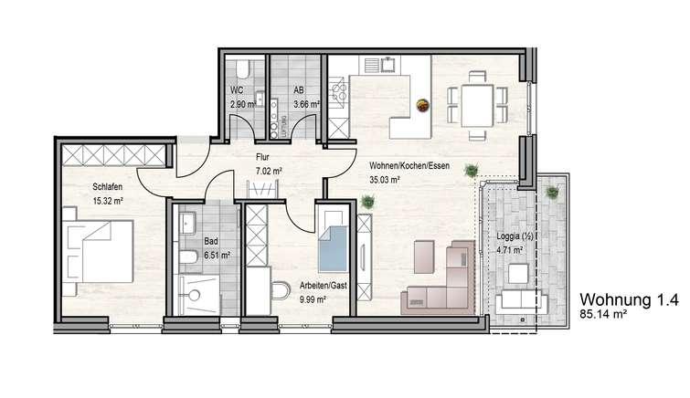 OG Haus 1_Wg4