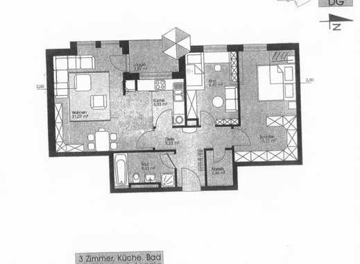 Schöne, gepflegte 3-Zimmer-Wohnung mit Loggia und Einbauküche in Fürstenfeldbruck