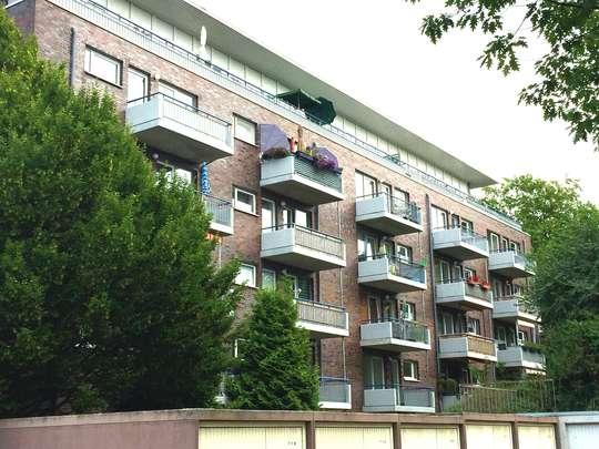 Barrierefreie Wohnung mit Balkon
