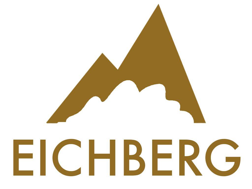 Eichberg logo gold mit Logotyp