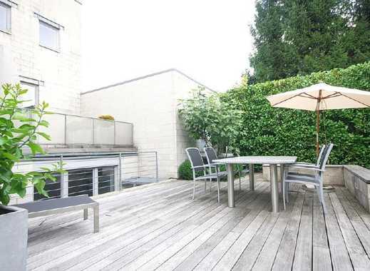 Gartengeschosswohnung mit großer Terrasse, W-LAN, ruhige Lage nahe Baldeneysee