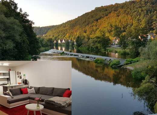 Neue 3-Zimmer EG-Wohnung mit Balkon - nur 15 min nach Regensburg - Leben wo andere Urlaub machen!