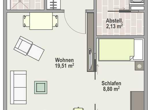 Kaltmiete ab 950 €/Monat - Senioren- u. behindertengerechte 1,5-Zi.-Whg.