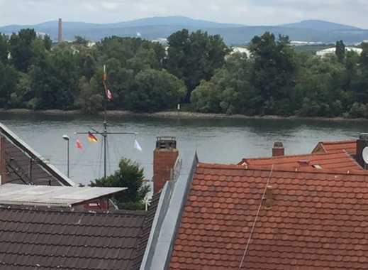 Neu renovierte 3 ZKB-Wohnung mit Rheinblick in MZ-Weisenau