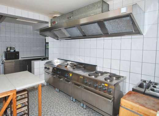 AUMÜLLER-Immobilien - Gepflegte Gaststätte mit komplett ausgestatteter Profiküche und zwei Wohnungen