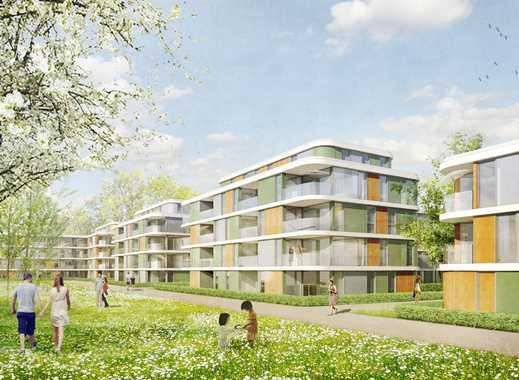Großzügige 39 m² Dachterrasse! Modernes 3-Zimmer-Penthouse mit ca. 44 m² Wohn-/Ess-/Kochbereich