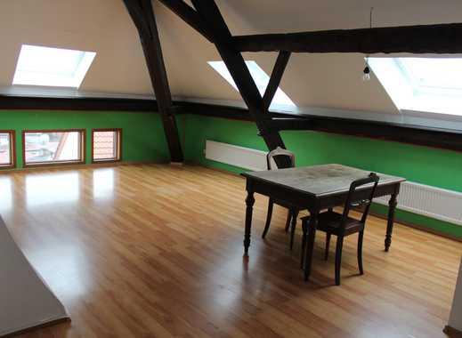 Schöne, sanierte 4-Zimmer-DG-Wohnung, Altbau, zur Miete in Dieburg
