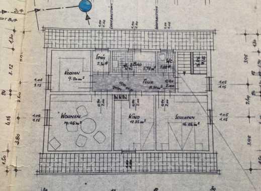 Schnaittach: Gute Wohnlage - schöne Dachgeschoßwohnung mit Garten