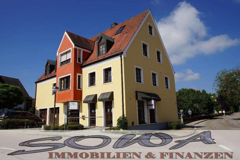 Wohnung mit Büro zu vermieten - Eine Objekt von Ihrem Immobilienspezialisten SOWA Immobilien & Fi... in Oberhausen (Neuburg-Schrobenhausen)