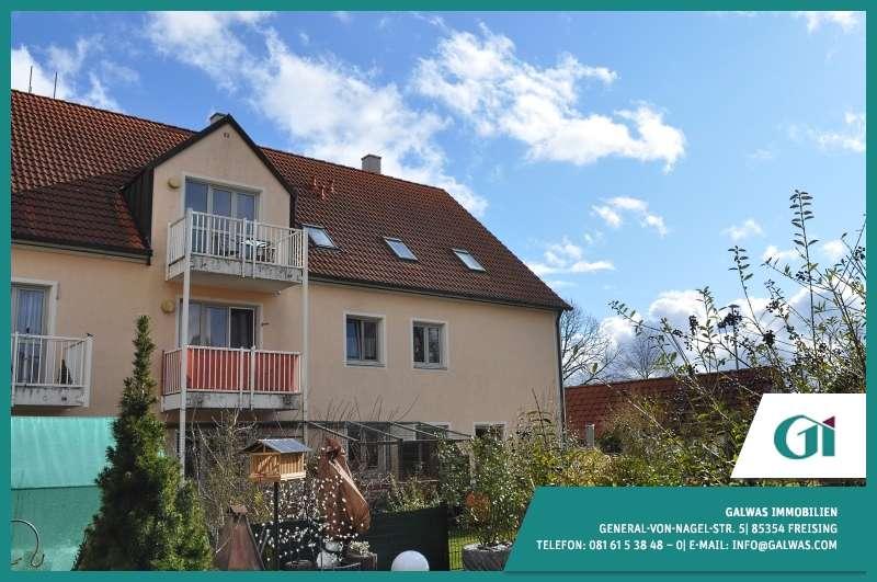 GI** 1,5-Zi.-Maisonette-Whg. mit Katzenfreilauf und Terrasse in Goldach - Hallbergmoos in
