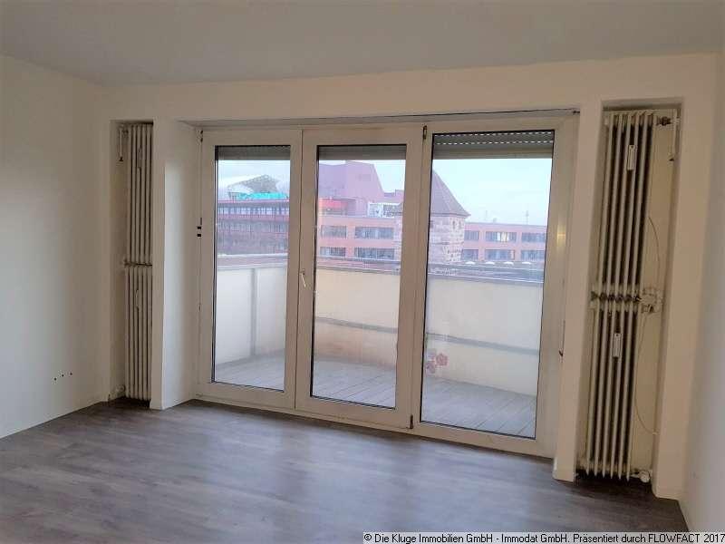 ** Schicke 3 Zimmerwohnung mit Balkon und Burgblick in Pirckheimerstraße (Nürnberg)