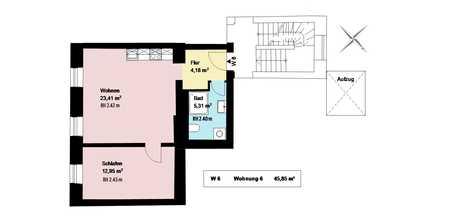 *trendiges Schlachthofviertel*sanierte 1-Zimmerwohnung mit Wohnküche und EBK*Keller*Parkett* in Ludwigsvorstadt-Isarvorstadt (München)