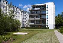 Bild Westend: Neubau-Erstbezug mit  9 m² Sonnenbalkon, 3. OG. mit Lift, Parkett, Fußbodenheizung und EBK