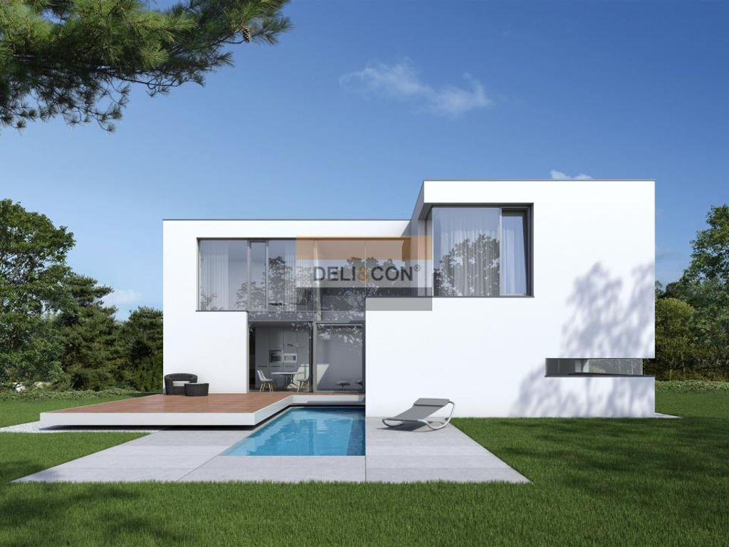 Beispielfoto eines Neubaus
