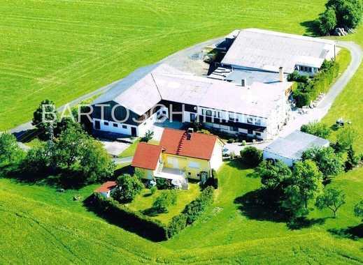 ***PROVISIONSFREI***  ALLEINLAGE  -Tierhaltung/Handwerk   2 Häuser +Nebengebäude ca. 7600 m² Grund