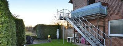 Komfortable 4ZKB Dachgeschossgeschosswohnung (110m²) mit Gartennutzung in Minden (Hahlen).