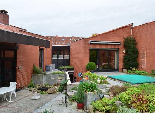 DAVENSTEDT: Schönes Architektenhaus - ruhiges Wohnen + Büro/ Einliegerwohnung