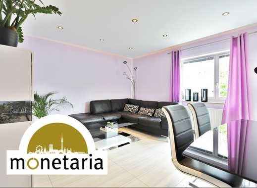 Voll möbliert, hell und ruhig gelegen ○ Sonnige Balkonwohnung in Ottobrunn