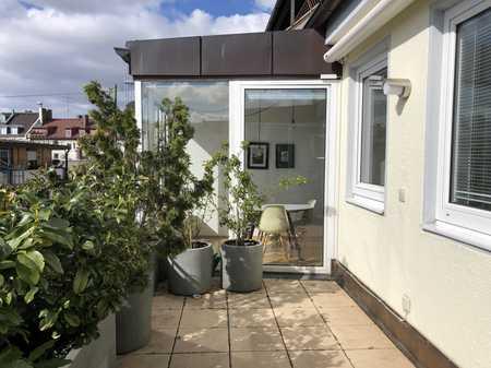 Maisonette-Wohnung mit Balkon mitten in der Maxvorstadt in Maxvorstadt (München)