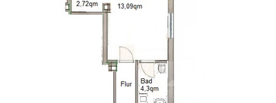 Erstbezug: stilvolle 2-Zimmer-Dachgeschosswohnung in Minden