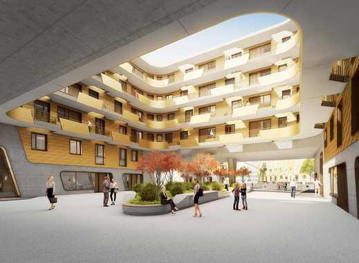 PANDION DOXX - Schöne 2-Zimmer-Wohnung auf ca. 56 m² mit Balkon und Blick auf den Mainzer Zollhafen.