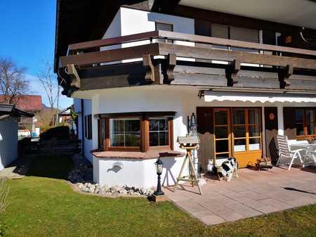 Große, gepflegte 4,5-Zimmer-Erdgeschosswohnung mit Garage und EBK in Oberstdorf in Oberstdorf